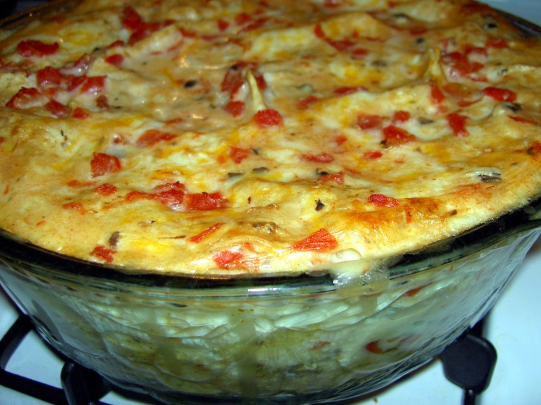 Mexican King Ranch Casserole